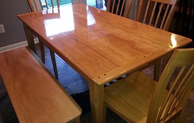 Handmade Table - Pauls Woodwork